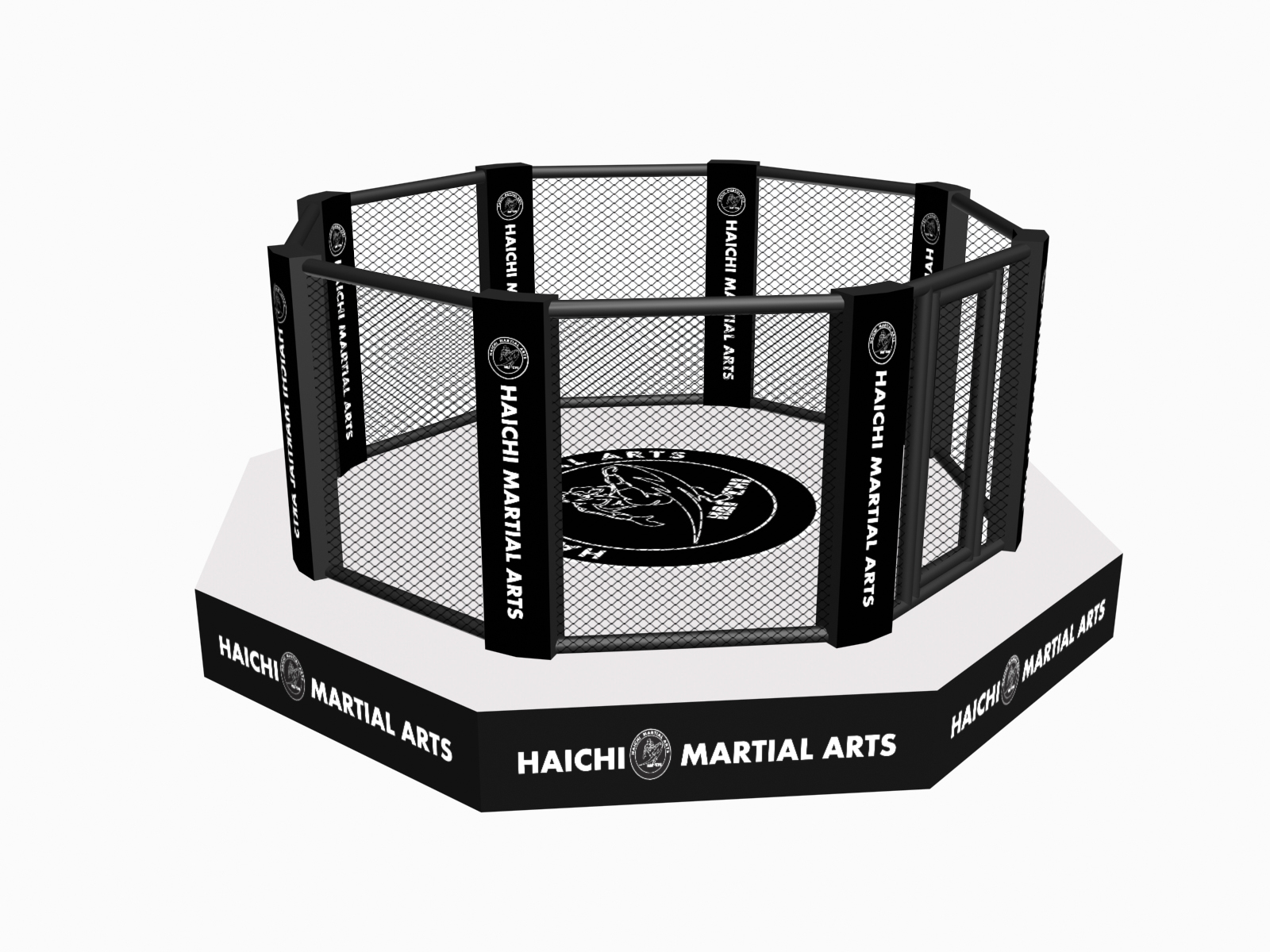 Octagon MMA Cage With Catwalk